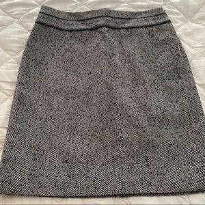 White House Black Market Herringbone Pencil Skirt